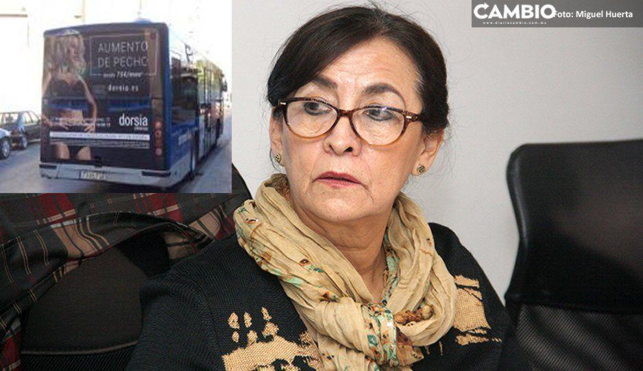PRI presenta incitativa para prohibir la publicidad sexista en unidades de transporte público