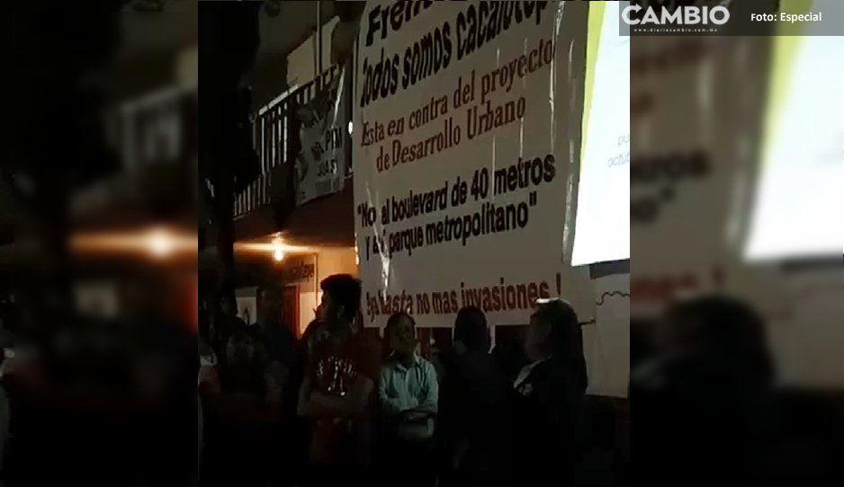 Otra junta auxiliar de San Andrés se opone a Plan de Desarrollo avalado por Paisano