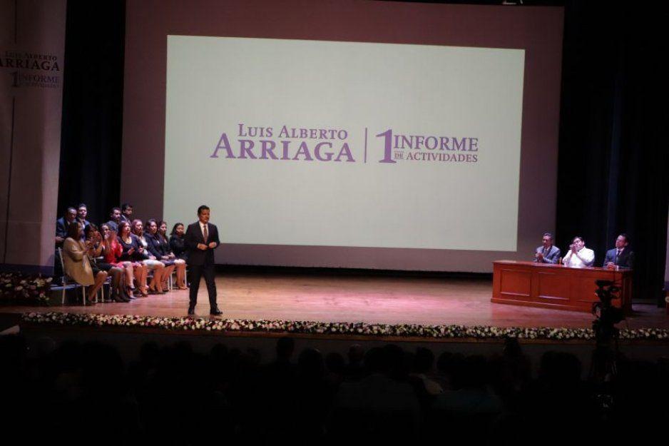 Reconoce el gobernador los resultados de Luis Alberto Arriaga a un año de su gestión municipal