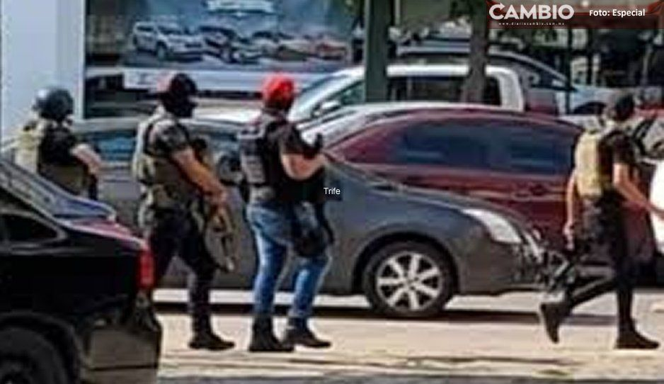 Sujetos armados alarman a vecinos de Xalmimilulco