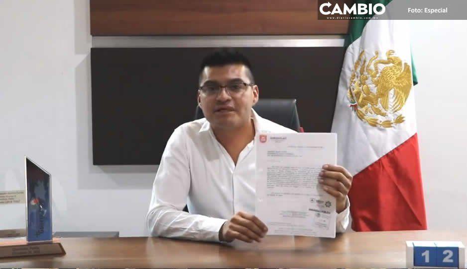 Edil de Quecholac declara guerra  a Tecamachalco por inseguridad