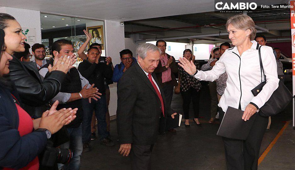 Cárdenas se va entre lágrimas tras haber perdido la 'Batalla por Puebla'