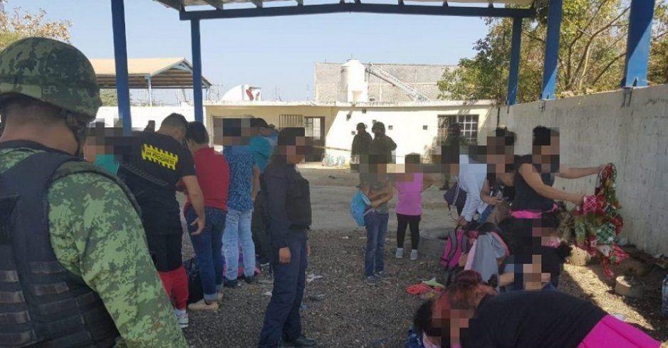 El Ejército rescata a 34 migrantes en Tamaulipas