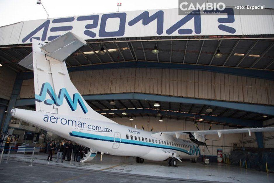 Aerolínea Aeromar evitará su extinción sumándose a la 4T de AMLO