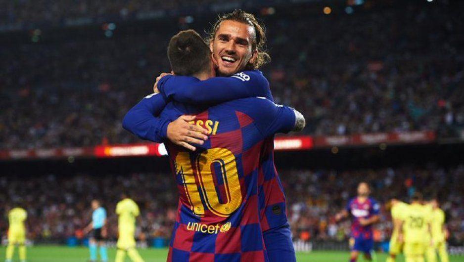 Messi y yo disfrutamos jugar juntos: Griezmann