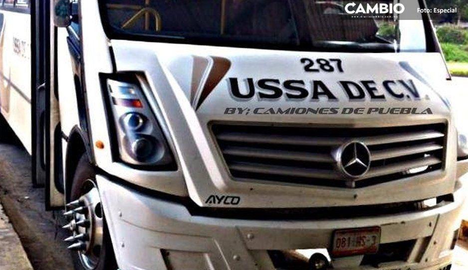 Transportistas de Sierra Norte ignoran modernización obligatoria de unidades