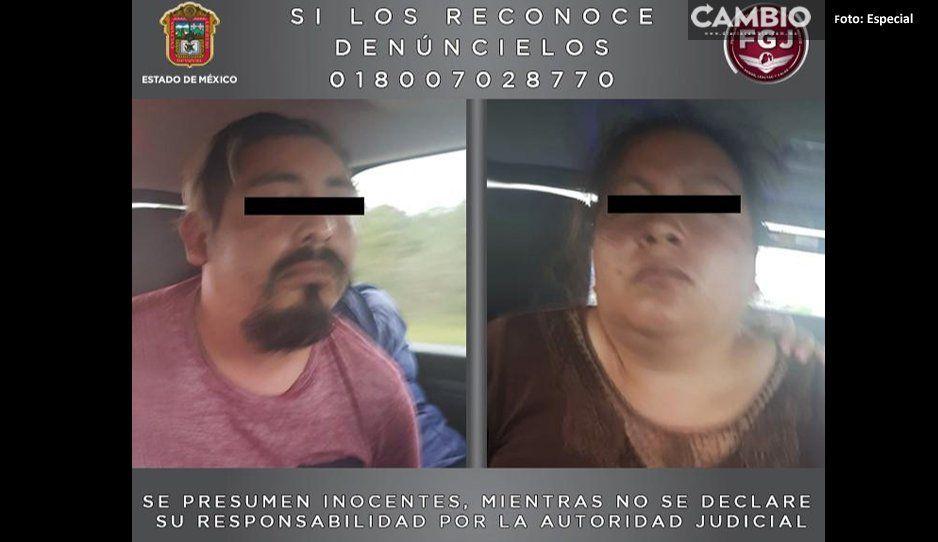 Detienen en Chignahuapan a pareja  de homicidas del Estado de México