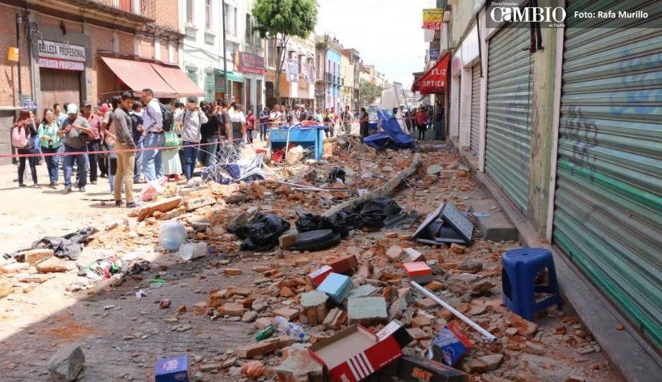 A dos años del 19-S, solo 20% de avance tiene la reconstrucción en Puebla