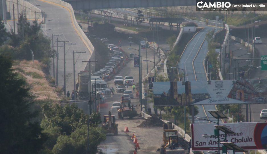 Pavimentación en Periférico y Carmelitas  estará lista este viernes: Infraestructura