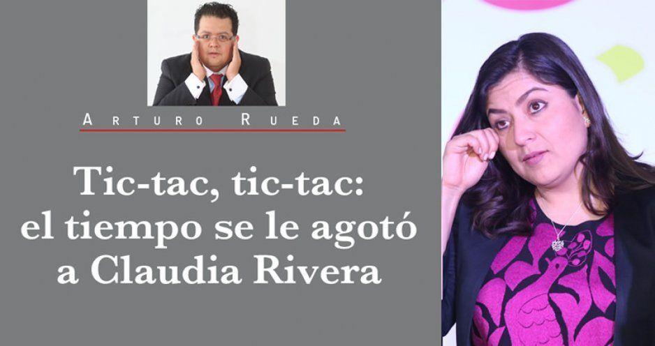 Tic-tac, tic-tac: el tiempo se le agotó a Claudia Rivera