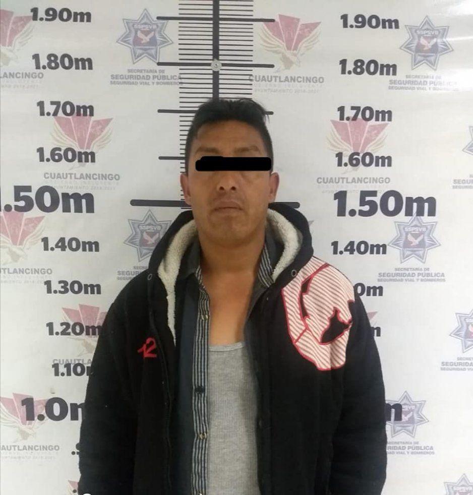 Recupera policía de Cuautlancingo vehículo con reporte de robo