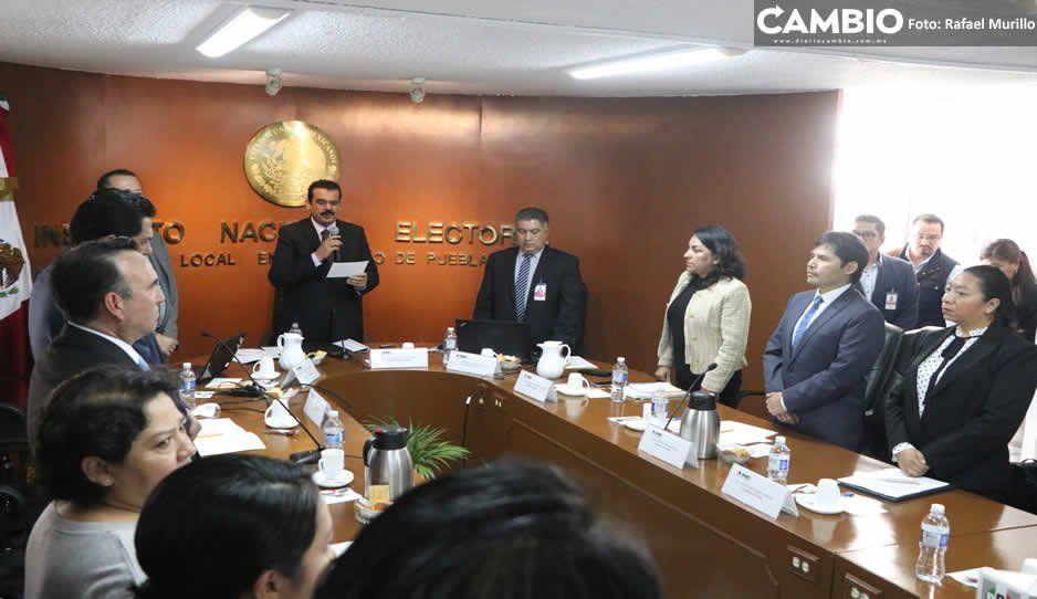 INE desecha denuncia del PAN contra Barbosa y Yeidckol por actos anticipados