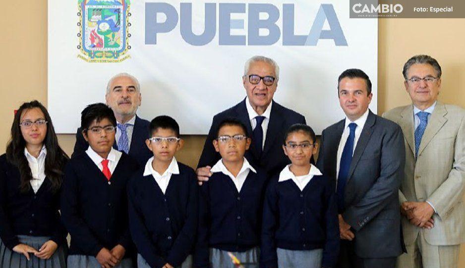 Gobierno estatal proyecta entregar  111 mil lentes para alumnos poblanos
