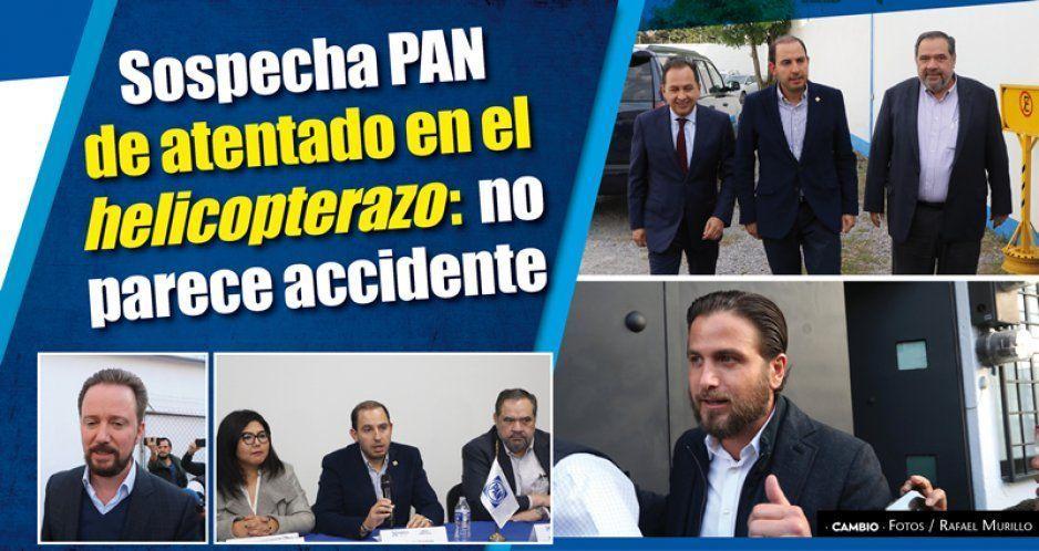 Sospecha PAN de atentado en el helicopterazo: no parece accidente (VIDEO)