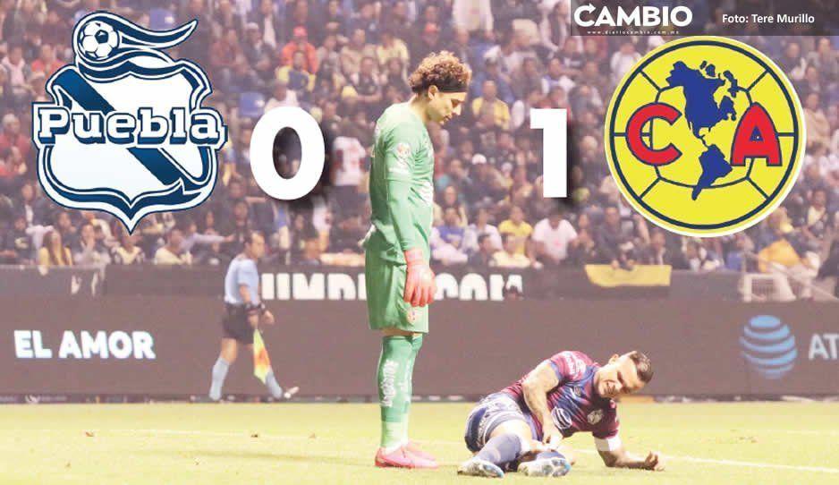 Ante América, el Club Puebla de Juan Reynoso pierde su tercer partido al hilo