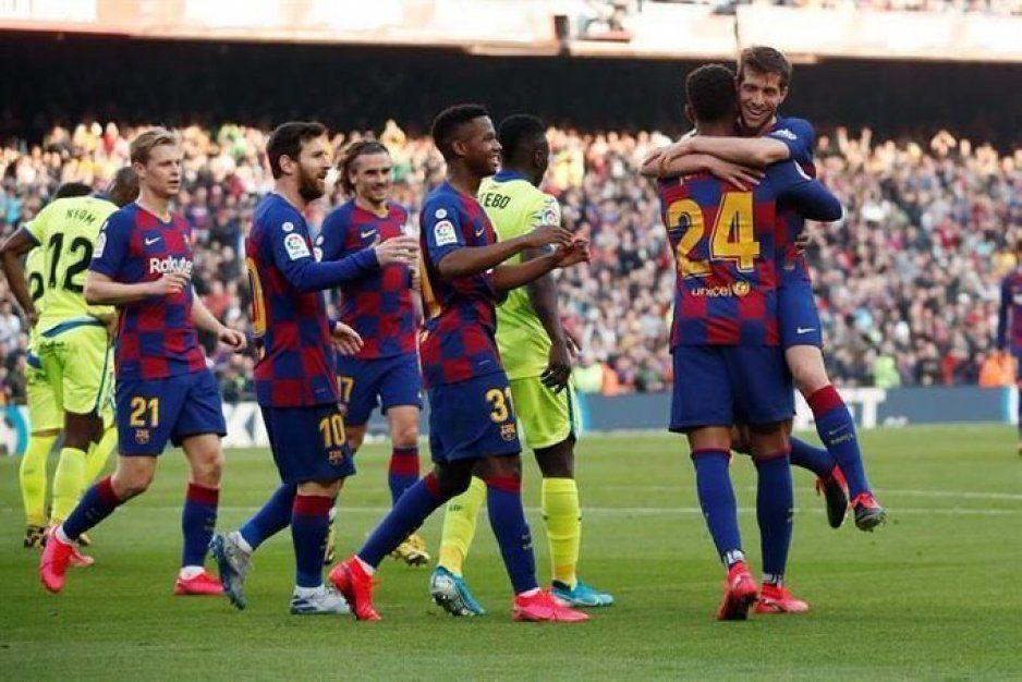 El Barça del tiki taka supera la garra del Getafe (VIDEO)