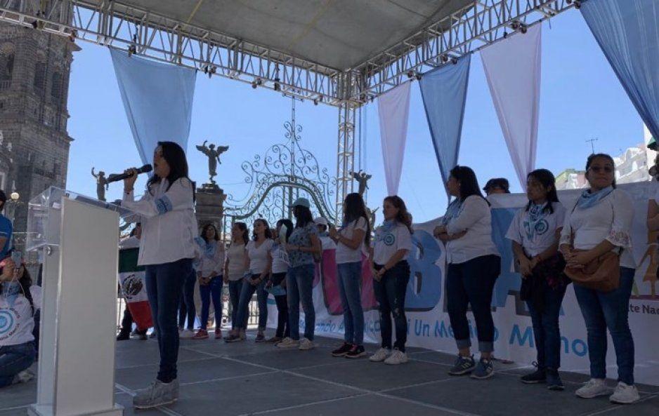 El aborto es igual a un crimen: coordinadora del Frente Nacional por la Familia en Puebla