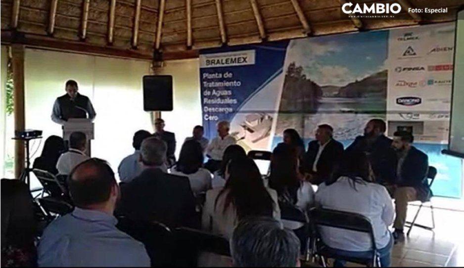 Planta de Tratamiento de Aguas Residuales inicia construcción por 1.5 millones de dólares en Cuautlancingo