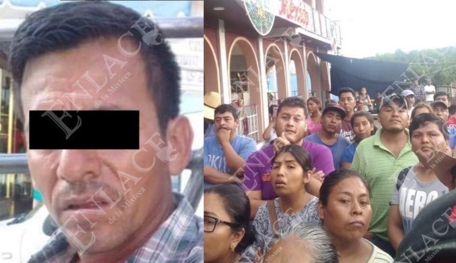 Pobladores enardecidos buscan linchar a robachicos en Tulcingo; Guardia Nacional va al rescate