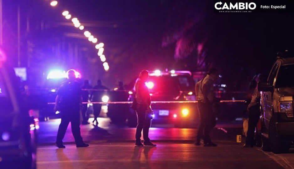 Se registraron 5 balaceras en Texmelucan con armas de grueso calibre durante las primeras horas