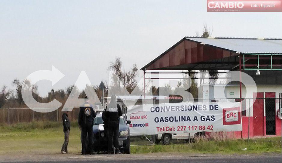 ¡Ya les cayó el chahuistle! Realizan operativos en gaseras de Huejotzingo