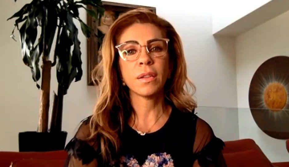 Rocío Sánchez Azuara agradece por el apoyo y cuenta que su hija falleció en sus brazos (VIDEO)