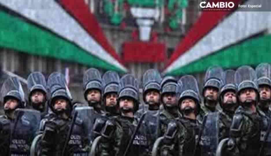 Especialistas rechazan la creación de la Guardia Nacional