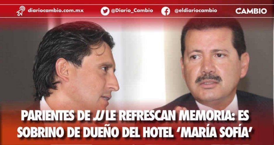 Parientes de JJ le refrescan la memoria: es sobrino de dueño del Hotel 'María Sofía'