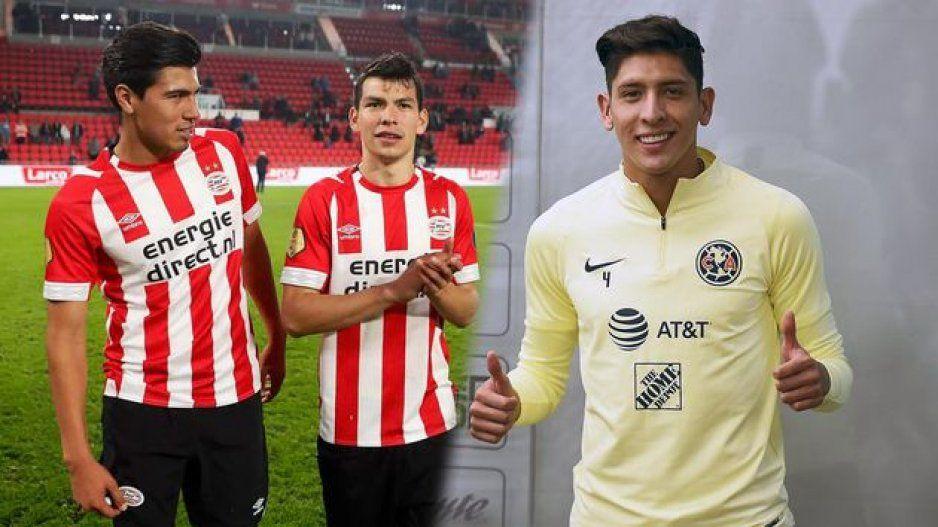 Edson Álvarez debutará con el Ajax ante el PSV del Chucky Lozano y Erick Gutiérrez