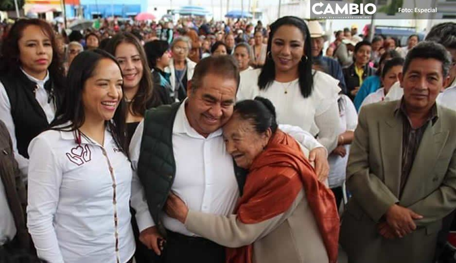 De la Rosa lanza programa Alianza Felicidad con Secretaría de Bienestar estatal en Amozoc