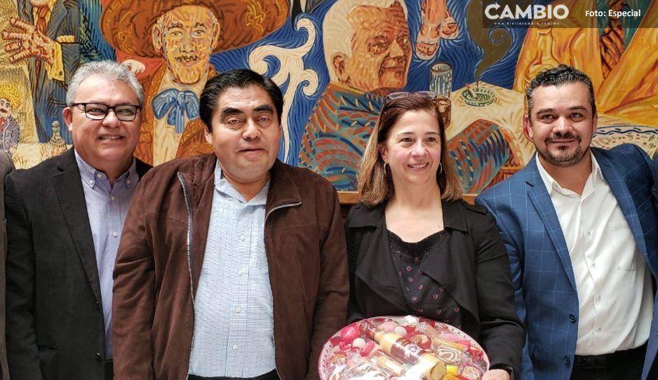 Barbosa se reúne con SCT, presenta proyectos para mejorar las carreteras