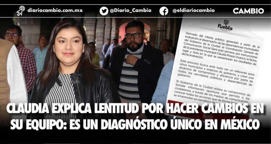Claudia explica lentitud por hacer cambios en su equipo: es un diagnóstico único en México