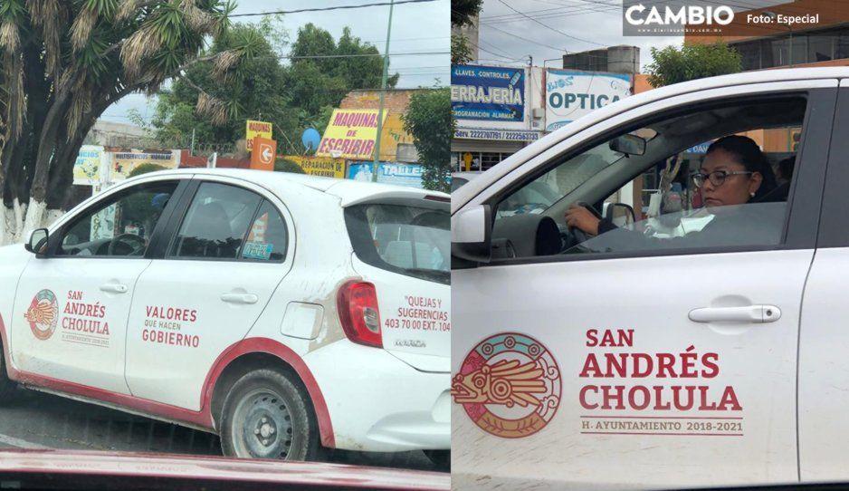 Funcionarios de Karina Pérez usan vehículos del Ayuntamiento hasta para ir al supermercado