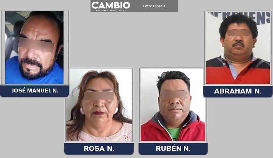 Van cuatro líderes tianguistas de Texmelucan  detenidos por la Fiscalía General del Estado