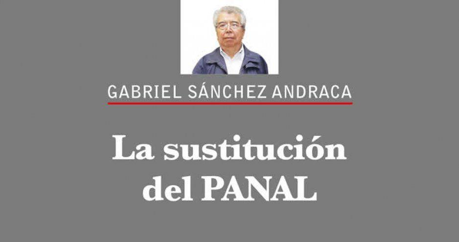 La sustitución del PANAL