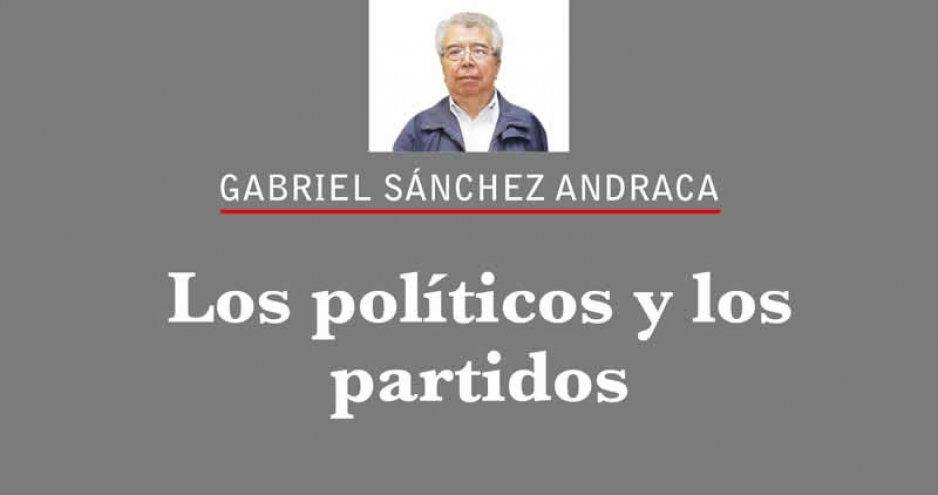 Los políticos y los partidos