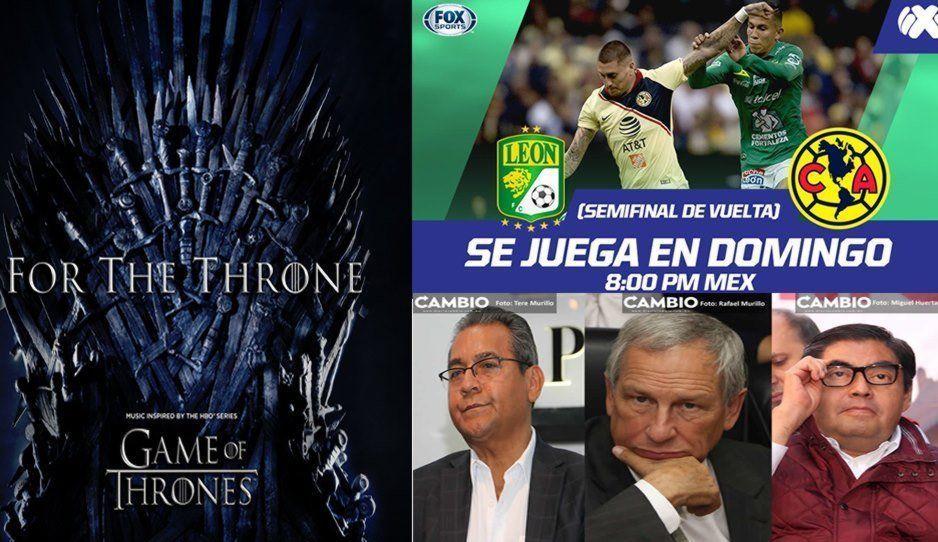 ¿Qué verás este domingo? Final Game Of Thrones, León vs América o Debate