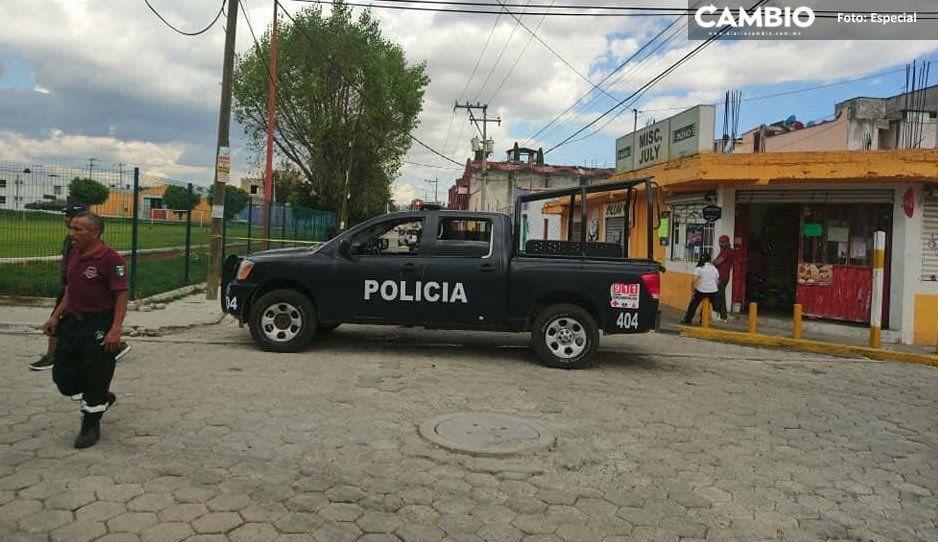 Comando armado ejecuta a empresario durante atraco en Cholula (VIDEO)