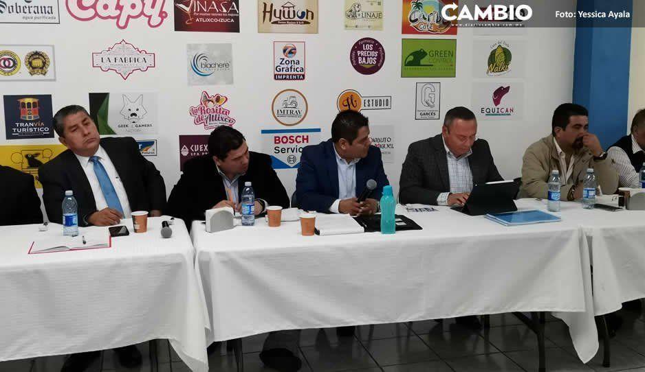 Guillermo Velázquez sostiene reunión con  comerciantes para tratar temas de seguridad