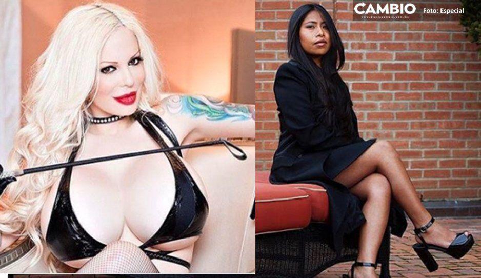 Ahora Yalitza va para actriz porno: Sabrina Sabrok le hace invitación oficial y perversa