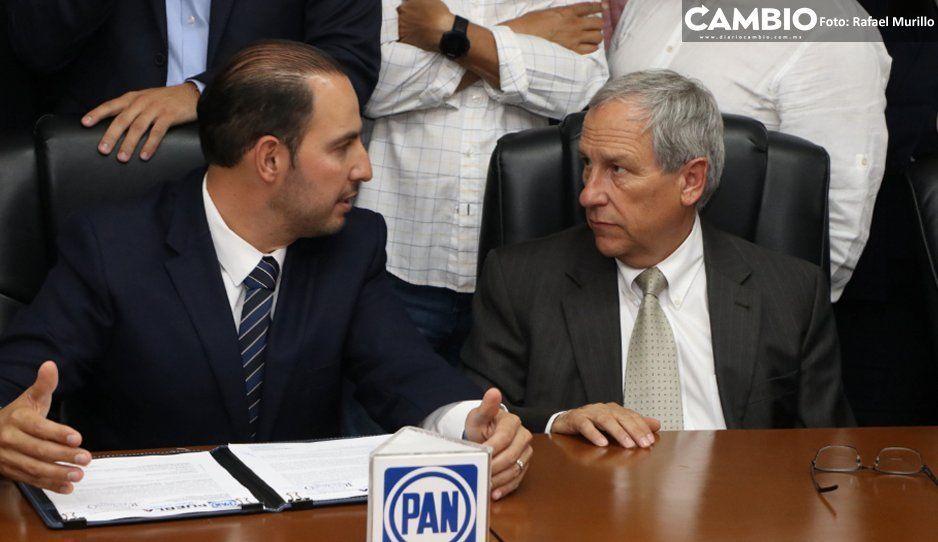 Ante críticas por no apoyar a Cárdenas, Marko Córtes estará en los mítines de Tehuacán y San Pedro Cholula