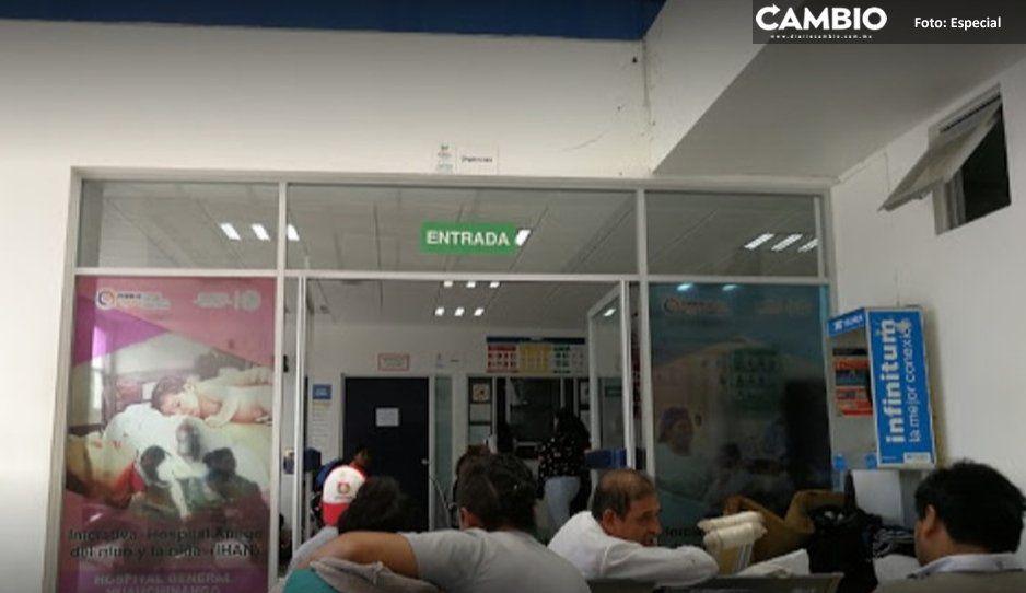 Sufren desabasto en hospitales de Venustiano  Carranza, Xicotepec y Huauchinango por Insabi