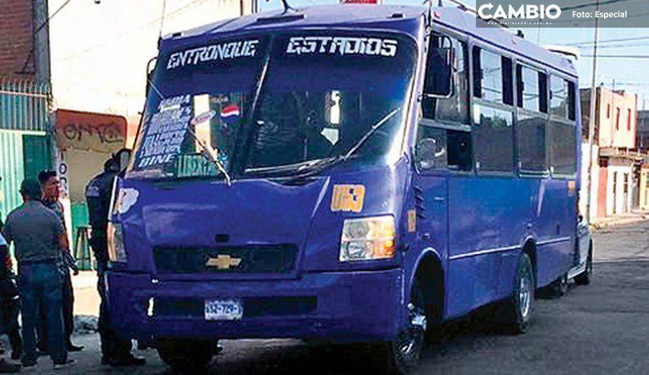 Banda de rata embarazada encañona y atracada a pasajeros de ruta Morados