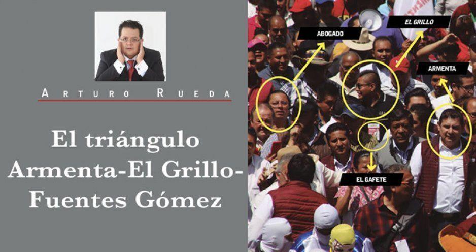 El triángulo Armenta-El Grillo-Fuentes Gómez
