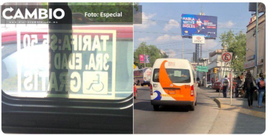 ¡Por sus pantalones! Sin autorización Ruta Chedraui sube el costo del pasaje a 6 pesos