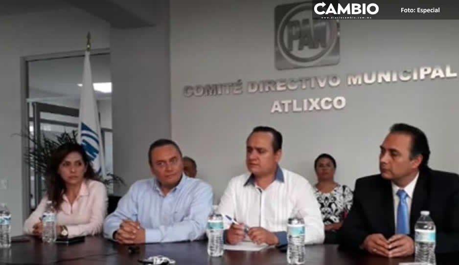 Alcalde suplente de Atlixco se afilia al PAN para evitar declinar