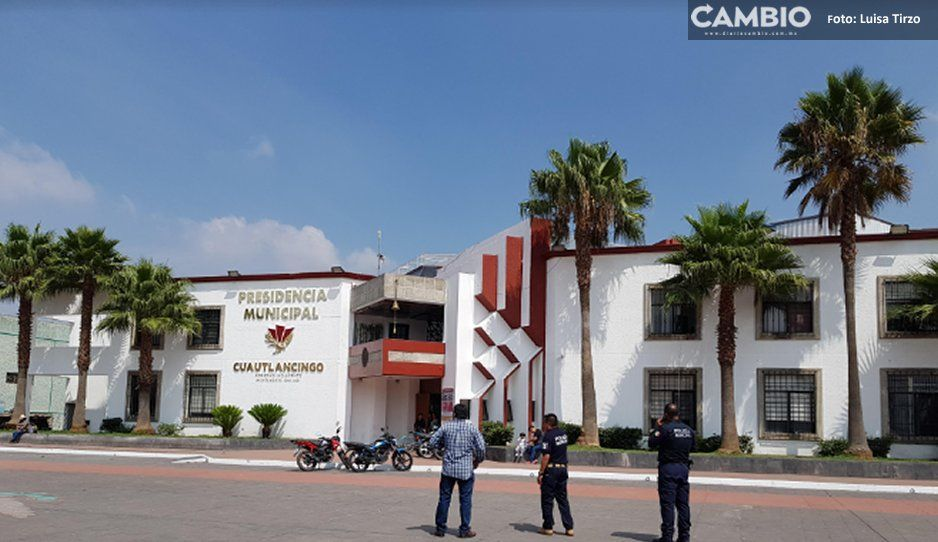 Finanzas retrasa entrega del Fortaseg en Cuautlancingo; policías se inconforman