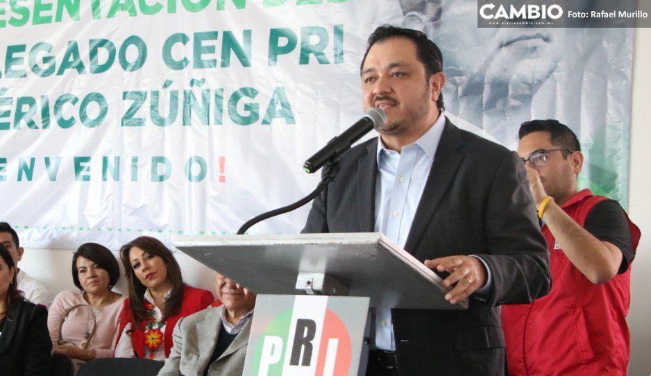 Delegado del PRI deja con pie fuera de la dirigencia a Lorenzo Rivera