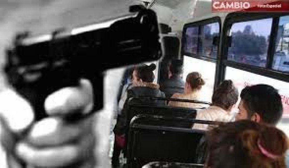 ¡Ratas se desatan! A punta de pistola, asaltan a pasajeros de las rutas 44 y 45