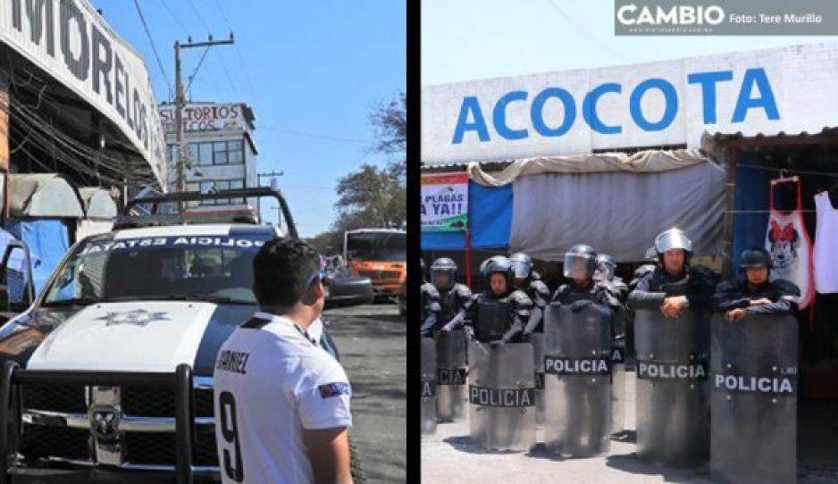 Acusan cobro de piso por parte de locatarios de mercados La Unión, La Acocota y Morelos